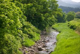 越中五箇山を背景に、袴腰山の清流が味を磨いた「名水」育ち